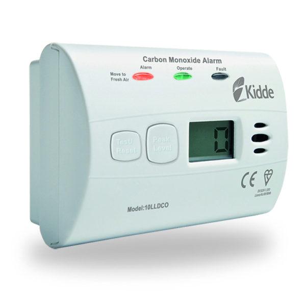 Detektor CO, měřící zařízení Kidde 10LLDCO