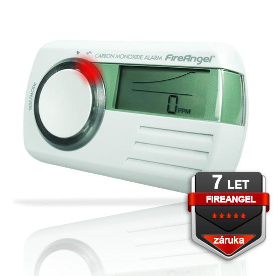 Detektor CO FireAngel CO-9D, multifunkční LCD