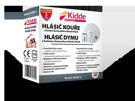 Požární hlásič kouře Kidde 29HD-L