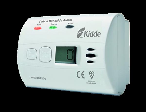 Detektor CO, měřící zařízení Kidde