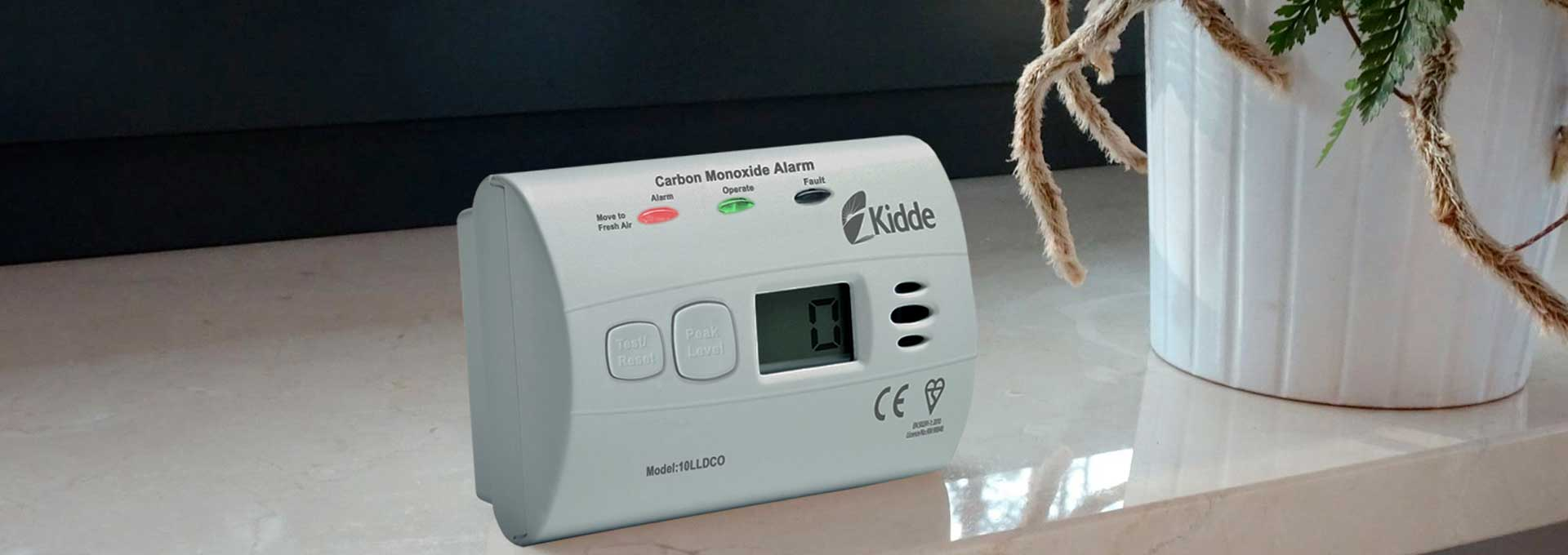 Detektor oxidu uhelnatého Kidde