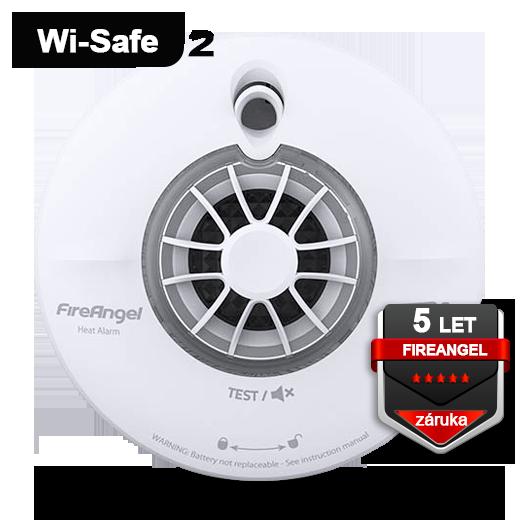 Teplotní hlásič FireAngel WHT-630 Wi-Safe 2